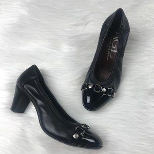 AGL Captoe Leather Heels Size 6